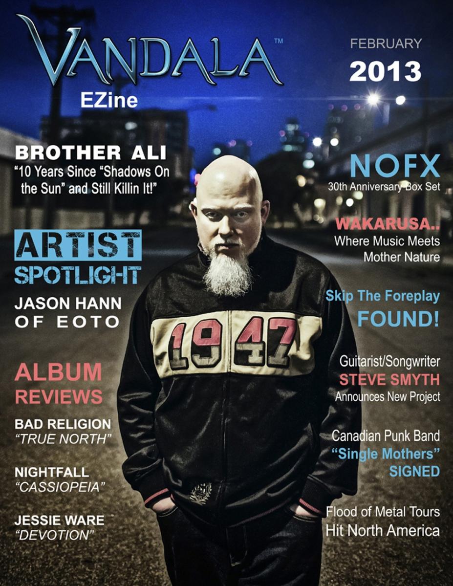 February 2013 Vandala Cover