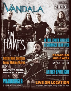 Vandala March 2013 - In Flames