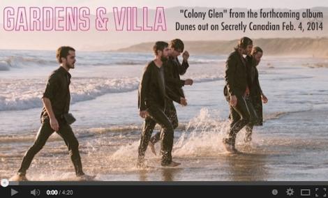 """Gardens & Villa Release New Single """"Colony Glen"""""""