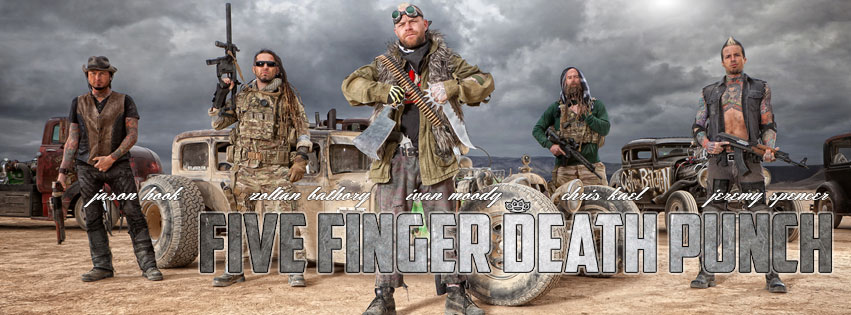 "NEW VIDEO – Five Finger Death Punch ""House of the Rising Sun ..."
