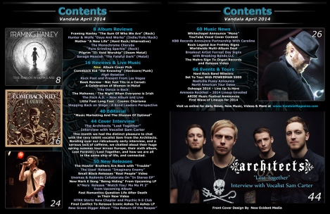 April 2014 Contents