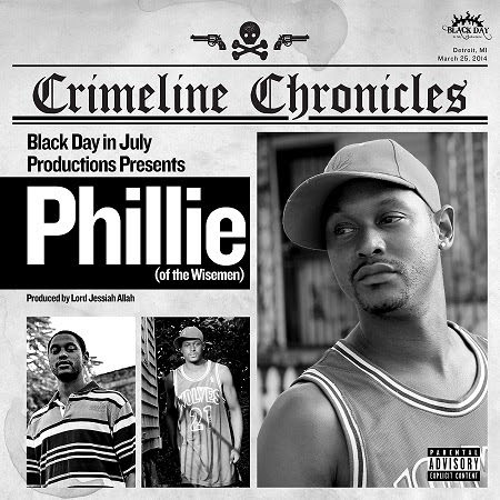 "Lord Jessiah & Phillie [The Wisemen] - ""Crimeline Chronicles"" album"