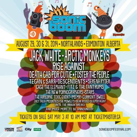 Sonic Boom Festival 2014