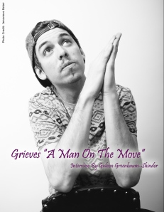"Cover Interview - Grieves ""A Man On The Move"""