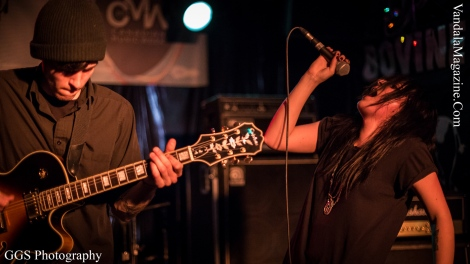 Bloody Diamonds at The Bovine Sex Club on May 7th, 2014 @ CMW 2014