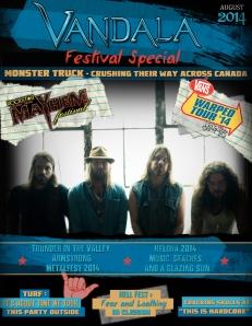 August 2014 Vandala Magazine - Festival Special