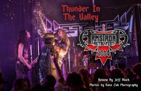 Thunder in the Valley: Armstrong Metalfest 2014