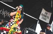 Beebs and Her Money Makers at Vans Warped Tour in Montreal, QC