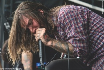 Everytime I Die at at Vans Warped Tour in Montreal, QC