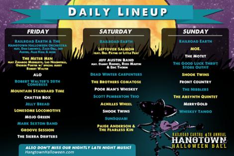 Hangtown Halloween Ball Announces Late Night Music & Daily ...