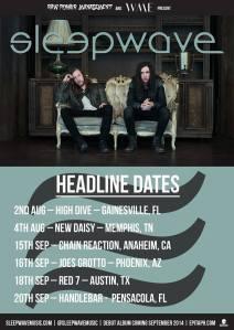 Sleepwave tour dates