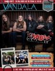 Octobers 2014 Vandala Magazine – Zetro of Exodus, Chris Demakes of Less Than Jake