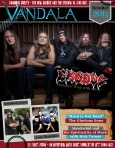 Octobers 2014 Vandala Magazine – Zetro of Exodus, Chris Demakes of Less Than Jake
