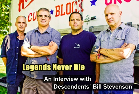 An interview with Descendents' Bill Stevenson September 2014 Vandala Magazine