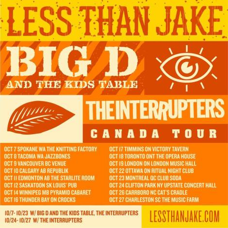 Less Than Jake Tour