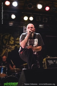 Internal Bleeding on the Carnival of Death Tour 2014, Edmonton, Alberta at the Starlite Room