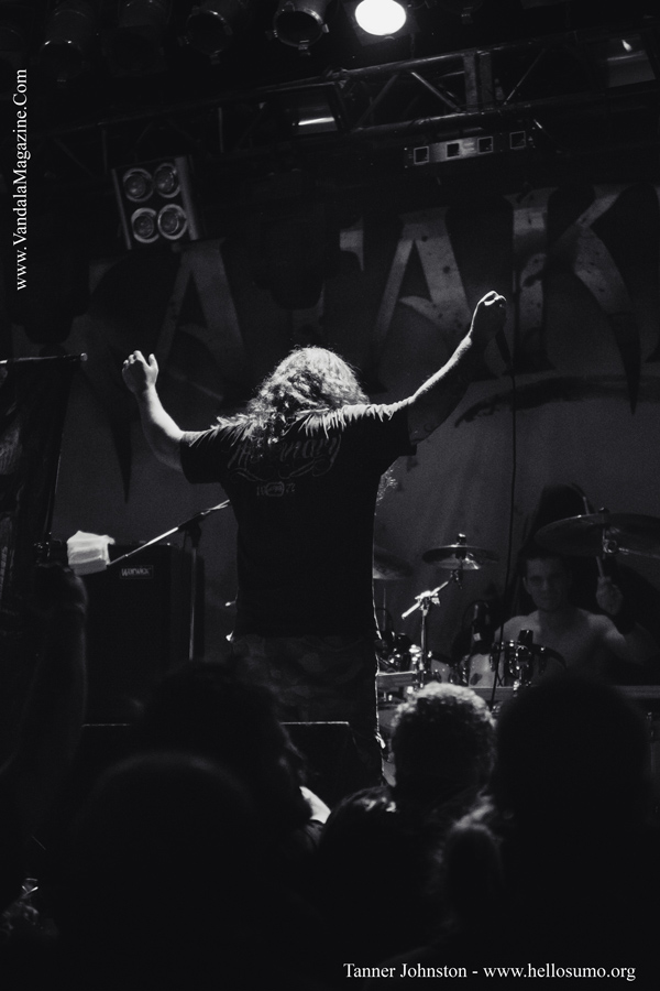 Kataklysm on the Carnival of Death Tour 2014, Edmonton, Alberta at the Starlite Room
