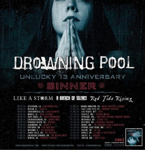 LIKE A STORM joins DROWNING POOL