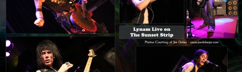 Lynam Pays Homage to the Sunset Strip