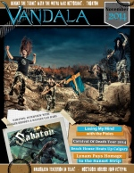 November 2014 Vandala Magazine - Sabaton, Pixies, Lagwagon, Rancid and More