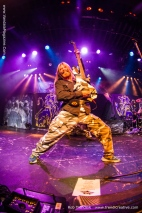 Sabaton Live in Vancouver - From November 2014 Vandala magazine