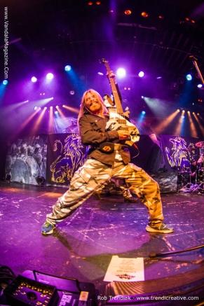 Sabaton Live in Vancouver - From November 2014 Vandala magazine