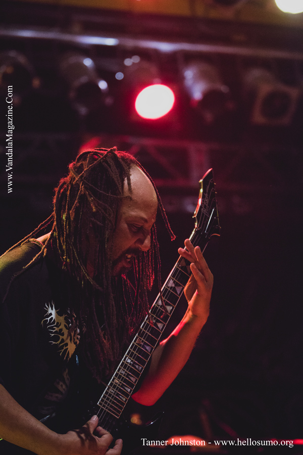 Suffocation on the Carnival of Death Tour 2014