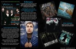 January 2015 Vandala Magazine Photo Special -p58-& 59: Look Back at February 2014