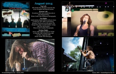January 2015 Vandala Magazine Photo Special -p74-& 75: Look Back at August 2014