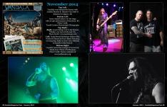 January 2015 Vandala Magazine Photo Special p84 & 85 Look Back at November 2014