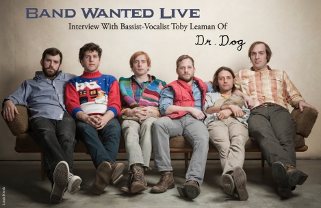 Cover Interview - Dr. Dog From February 2015 Vandala Magazine