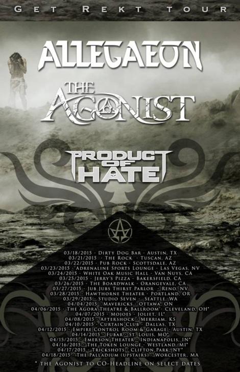 THE AGONIST - Get Rekt Tour