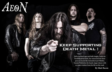 March 2015 Interview with Aeon
