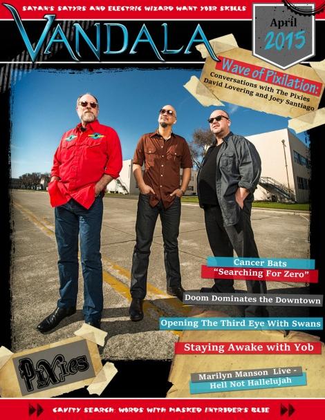 April 2015 Vandala Magazine Cover