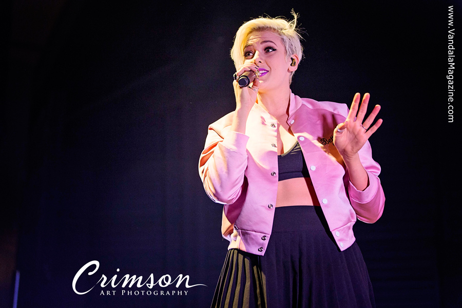 Betty Who at The MacEwan Hall-Ballroom, Calgary. Alberta, April 23rd, 2015