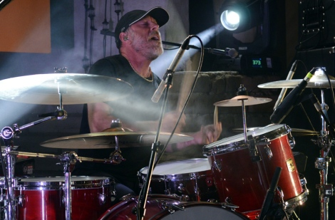 David Lovering, Pixies - April 17, 2014, Pioneertown, CA