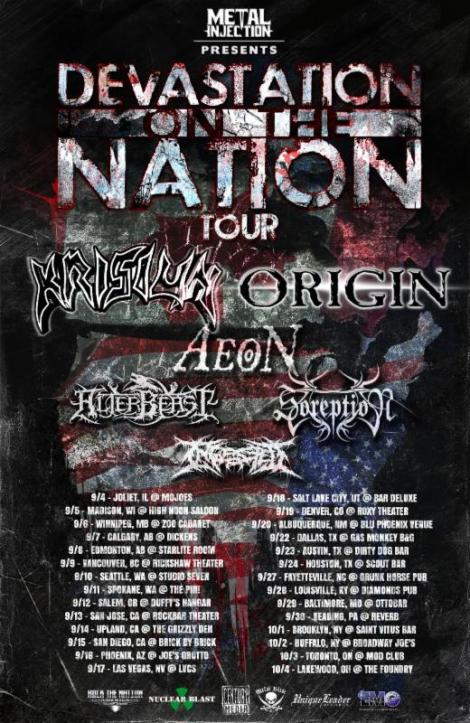 KRISIUN  with ORIGIN