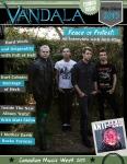 May/June Vandala Magazine 2015 - Anti-Flag, Matt Skiba, Full of Hell & Festival Season Kicks Off