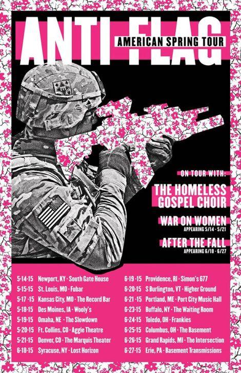 Anti-Flag American Spring Tour