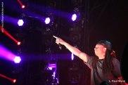 Leze singing with Deorro - Coachella 2015