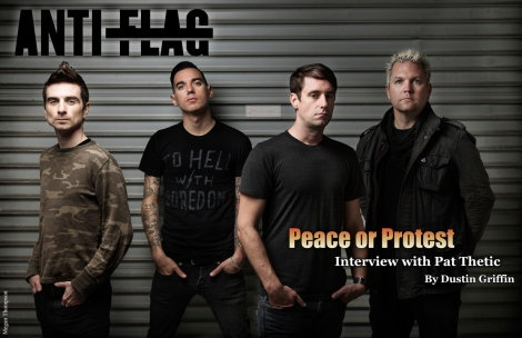 May/June Vandala Magazine 2015 – Interview with Anti Flags  Drummer Pat Thetic