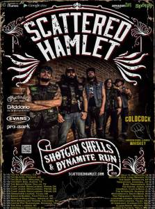 Honky Tonk Metal Band Scattered Hamlet Announce Upcoming