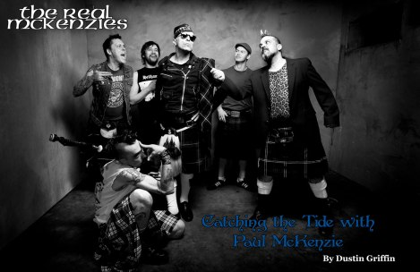 July 2015 Vandala Magazine - Catching the Tide with Paul McKenzie of The Real McKenzies