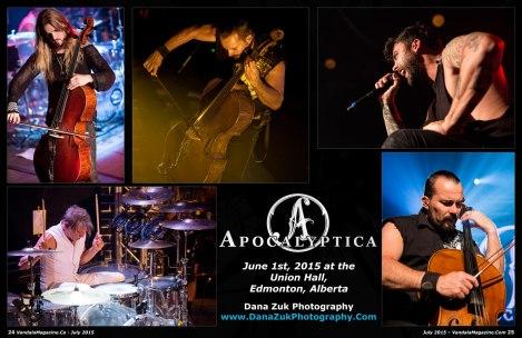 July 2015 Vandala Magazine - Apocalyptica