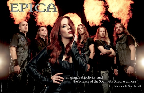 August 2015 Vandala Magazine - Epica Cover Interview