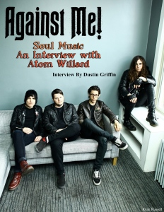 August 2015 Vandala Magazine - Interview Atom Willard of Against Me