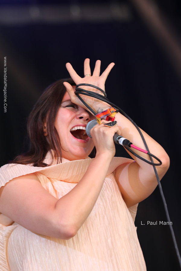 Bonnaroo Festival 2015 Day 2 - Tanya Tagaq