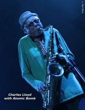 Charles Llyod at Bonnaroo Festival - Photo Credit L Paul Mann