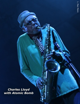 Charles Llyod at Bonnaroo Festival - Photo Credit L Paul Mann