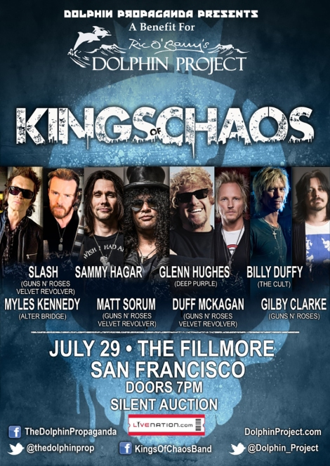 interview kings of chaos set to play benefit concert for the dolphin project vandala magazine. Black Bedroom Furniture Sets. Home Design Ideas